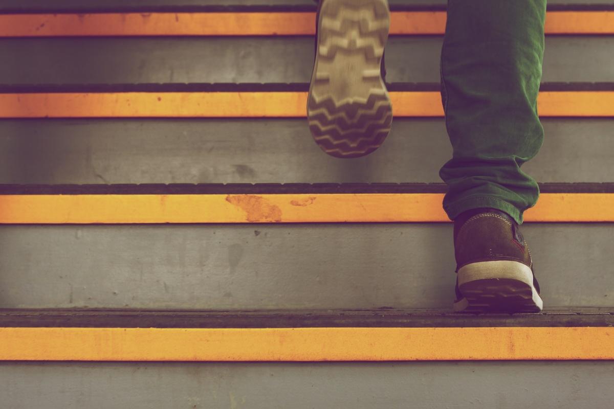 stairs-man-person-walking